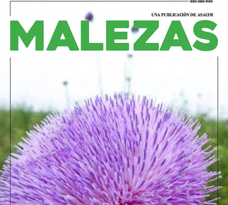 Ya está disponible el 4to. número de la Revista MALEZAS de ASACIM