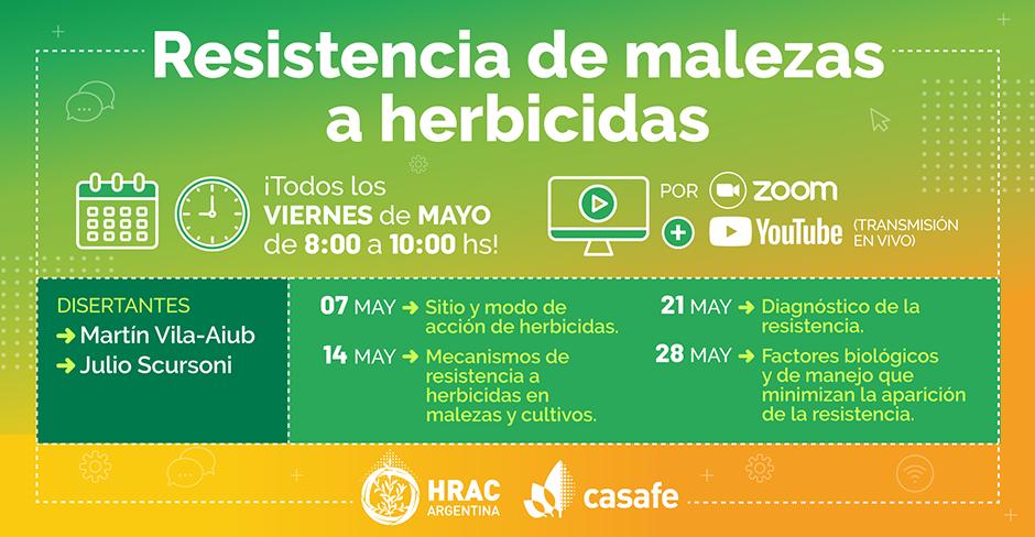 Ciclo de charlas sobre resistencia de malezas a herbicidas